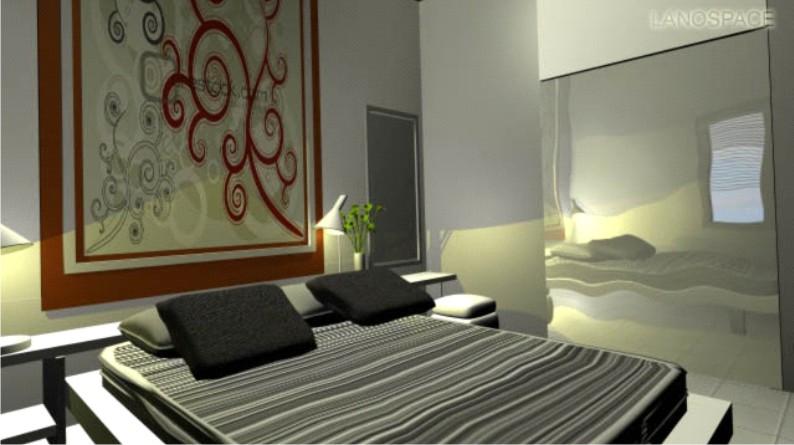kamar tidur utama hello world